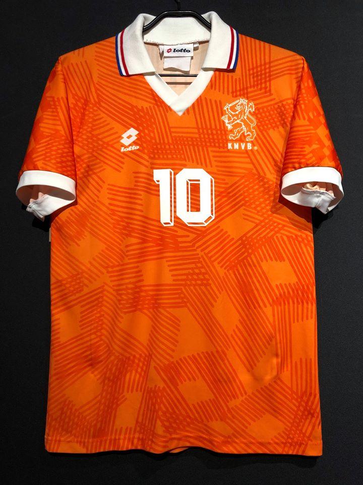1992年オランダ代表ユニフォーム