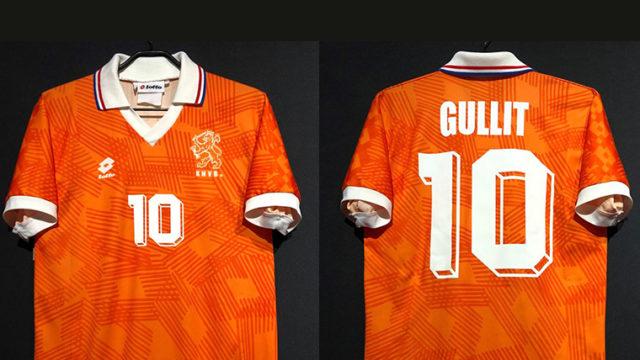 フリットの1992年オランダ代表ユニフォーム