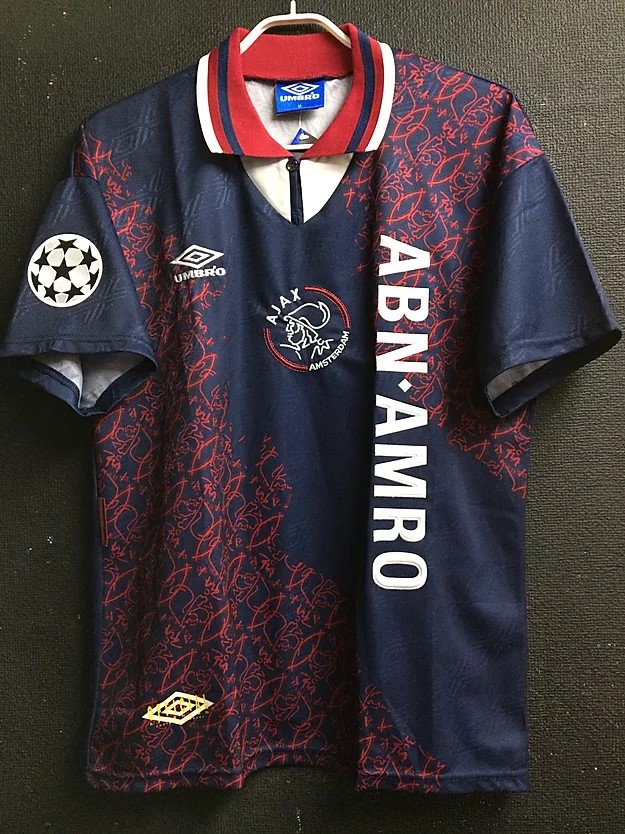 1994-95アヤックスアウェイユニフォーム