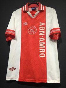 1994-95アヤックスホームユニフォーム