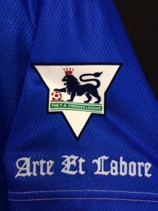 1994-95ブラックバーンのホームユニフォームの袖