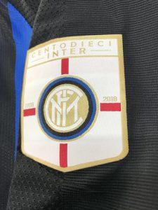 インテル・ミラノのクラブ創立110周年記念ロゴ