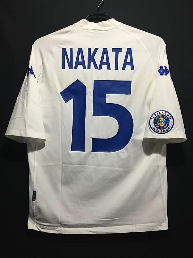 中田英寿の2000年イタリア聖年記念試合のセリエA外国人選抜ユニフォーム