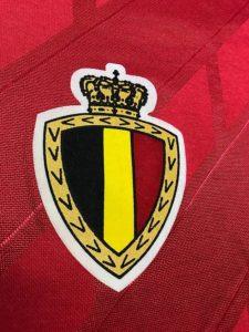 ベルギー代表1986-89ホームユニフォームのエンブレム