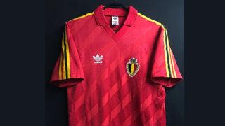 ベルギー代表1986-89ホームユニフォーム