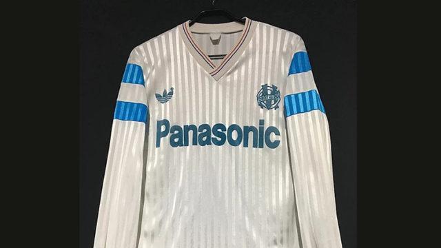 オリンピック・マルセイユ1990-91ホームユニフォーム