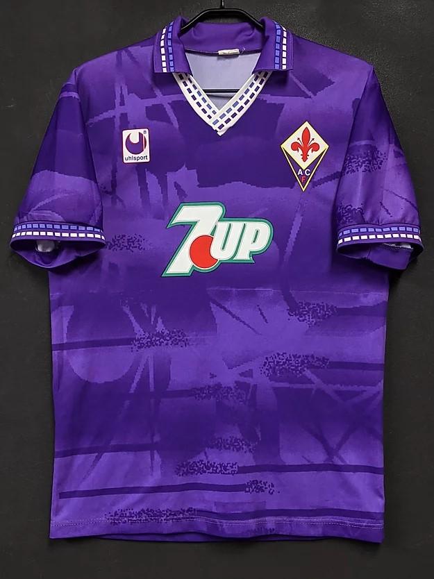 フィオレンティーナの1993-94ユニフォーム