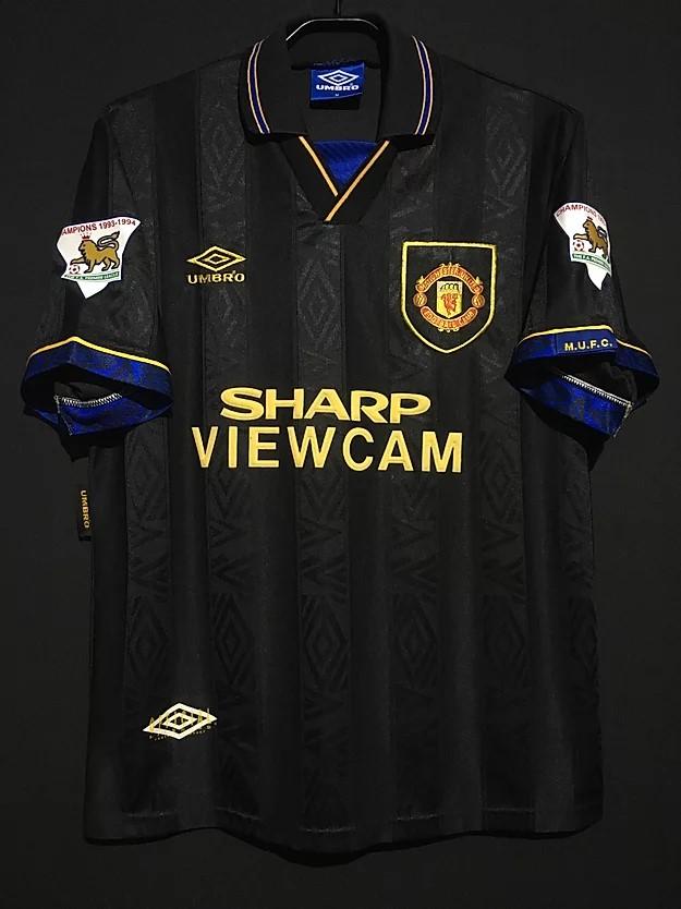 1994-95マンチェスター・ユナイテッドのアウェイユニフォーム