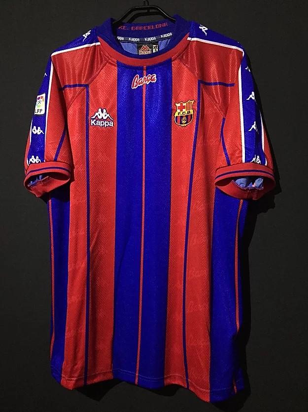 1997-98バルセロナユニフォーム