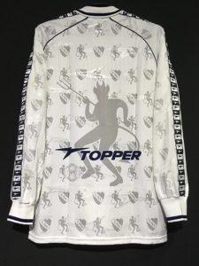 1998-99インデペンディエンテのアウェイユニフォームの背面