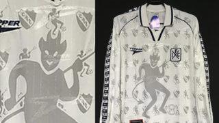 1998-99インデペンディエンテのアウェイユニフォーム