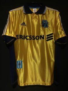 1998-99シーズンのマルセイユのクラブ創設100周年ユニフォーム3rdモデル