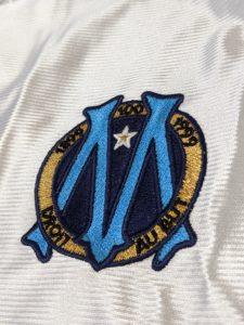 マルセイユの100周年エンブレム