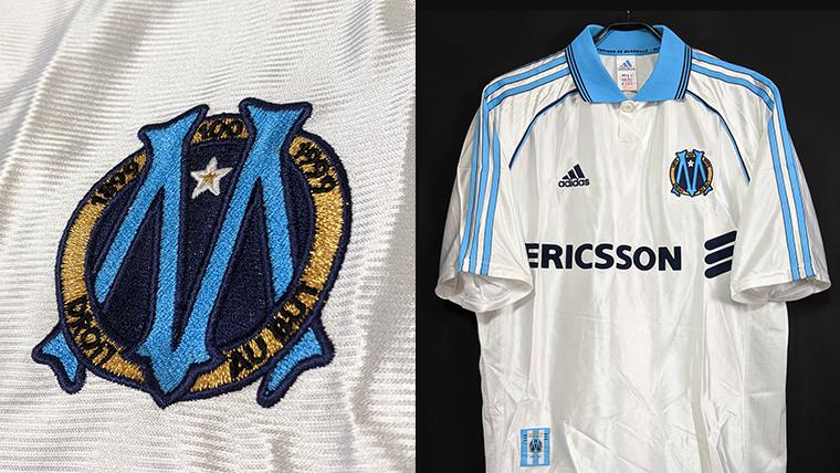 1998-99シーズンのマルセイユのクラブ創設100周年ユニフォーム