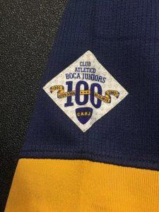 2005年ボカ・ジュニアーズ、クラブ創立100周年ユニフォームの記念パッチ