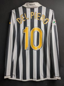 2006-07ユベントスのデルピエロのユニフォーム