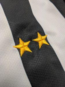 ユベントスの袖の星マーク