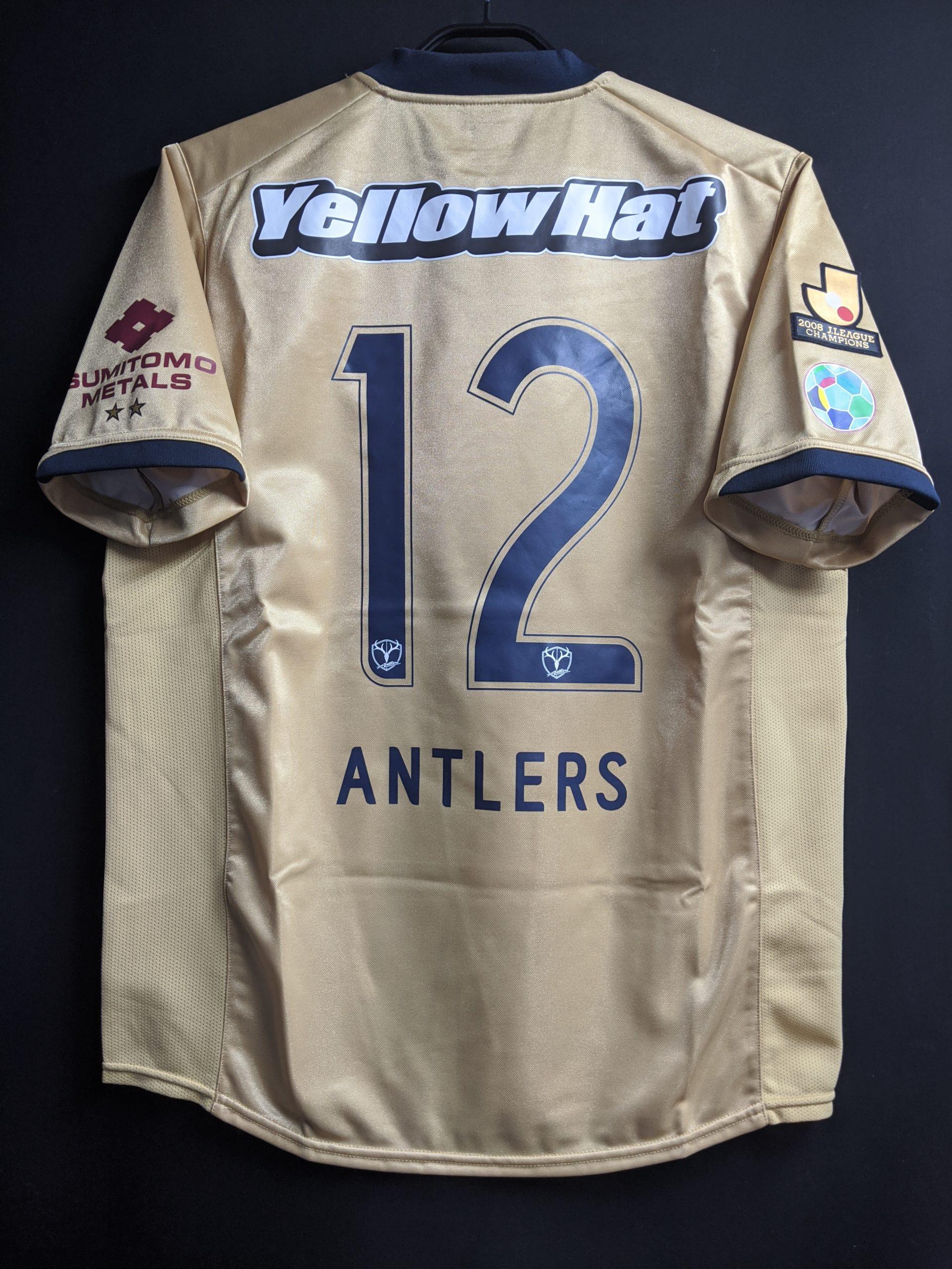 2009鹿島アントラーズの3rdユニフォームの背面