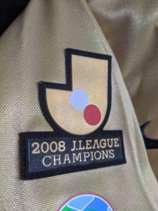2009鹿島アントラーズの3rdユニフォームのチャンピオンパッチ