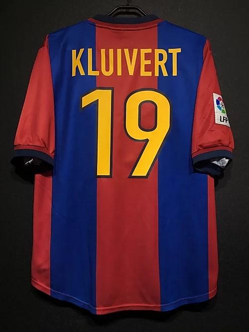 98-99バルセロナのクライファートのユニフォーム