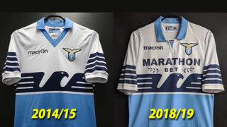 2014-15ラツィオのクラブ創立115周年記念ユニフォーム