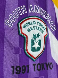 1991年ワールド東海マスターズの南米選抜ユニフォームのエンブレム