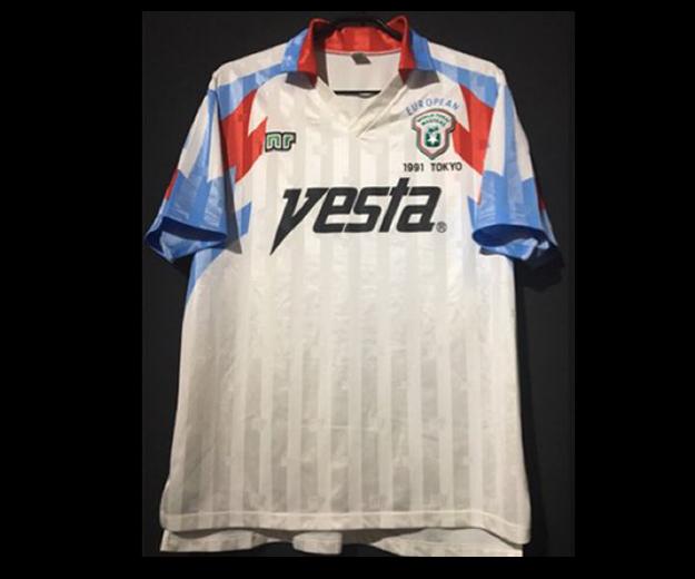 1991年ワールド東海マスターズの欧州選抜ユニフォーム