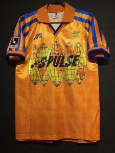 1993-96年の清水エスパルスのユニフォーム