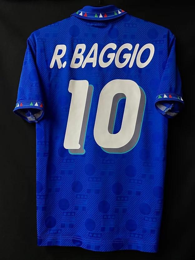 ロベルト・バッジョの1994イタリア代表ホームユニフォーム