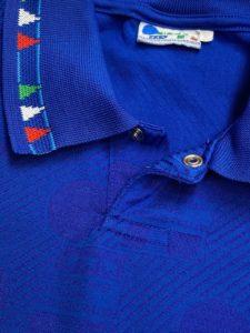 1994イタリア代表ホームユニフォームの襟
