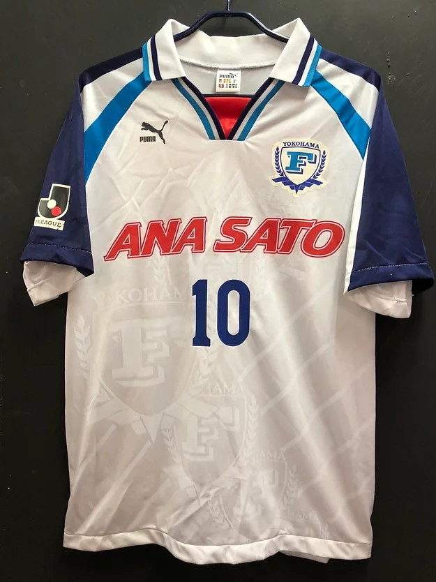 1998横浜フリューゲルスのホームユニフォーム
