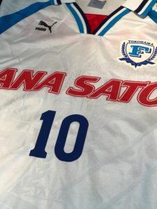 1998横浜フリューゲルスのホームユニフォームの胸スポンサー