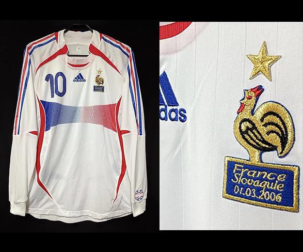2006年フランス代表ジダンのユニフォーム