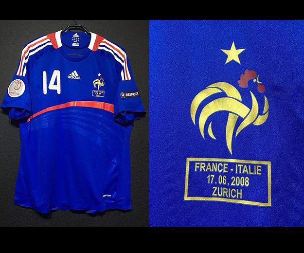 2008年フランス代表ユニフォーム