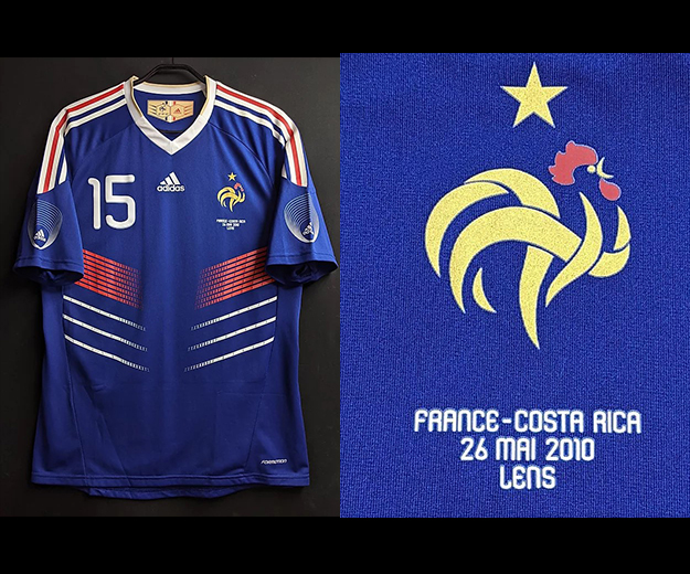 2010年フランス代表ユニフォーム