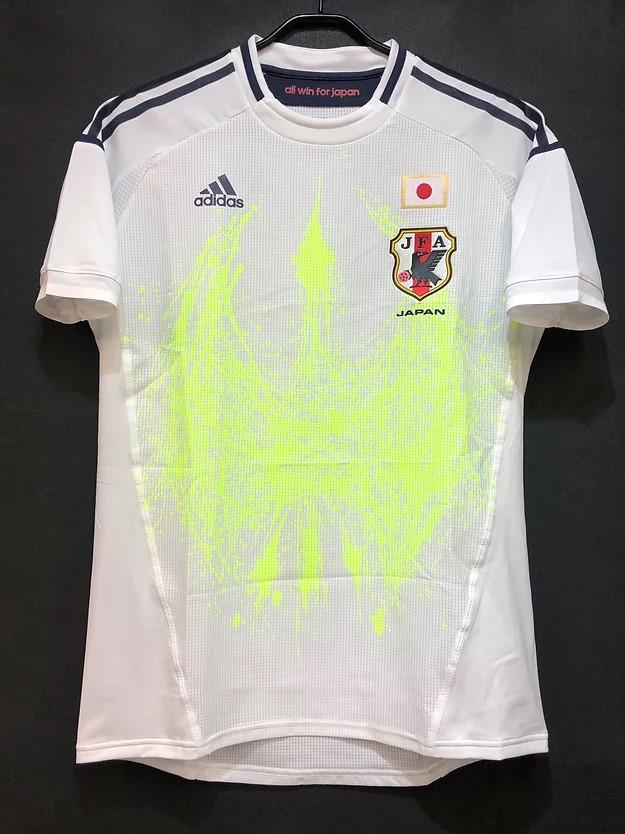 三浦知良選手の2012年フットサル日本代表アウェイユニフォーム