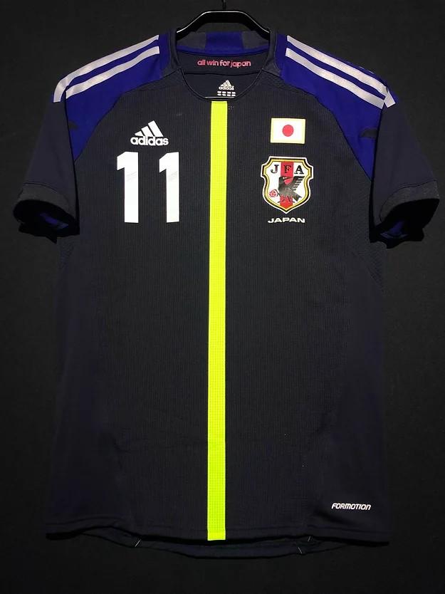 三浦知良選手の2012年フットサル日本代表ホームユニフォーム