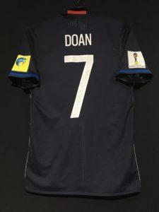 2017年U-20ワールドカップの堂安の日本代表ユニフォームの背面