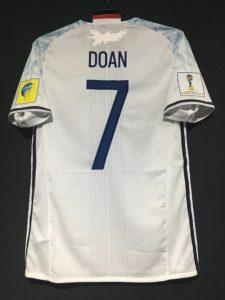 2017年U-20ワールドカップの堂安の日本代表のアウェイユニフォーム