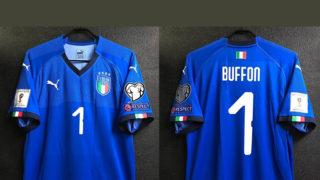 ブッフォンのイタリア代表2018ホームユニフォーム