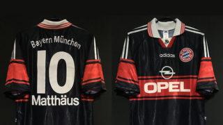 1997-99バイエルン・ミュンヘンのホームユニフォーム