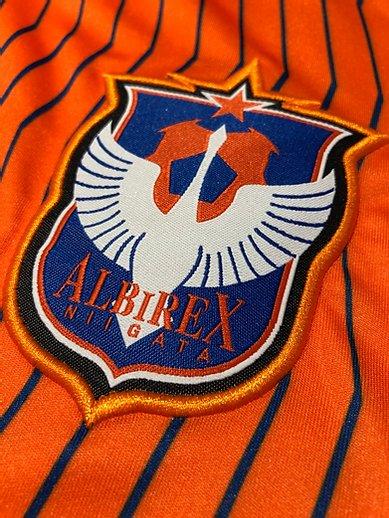 2017年アルビレックス新潟サマーユニフォームのチームエンブレム