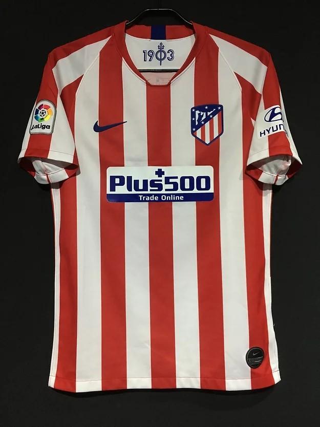 2019-20アトレティコ・マドリードのホームユニフォーム