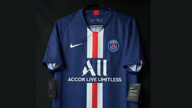 パリ・サンジェルマンの2019-20シーズンホームユニフォーム
