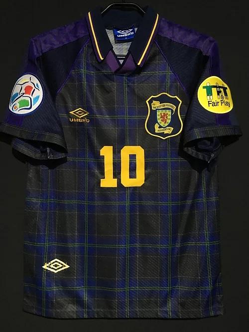 96年スコットランド代表ユニフォーム