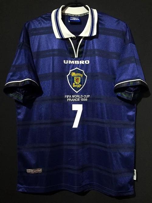 98年スコットランド代表ユニフォーム