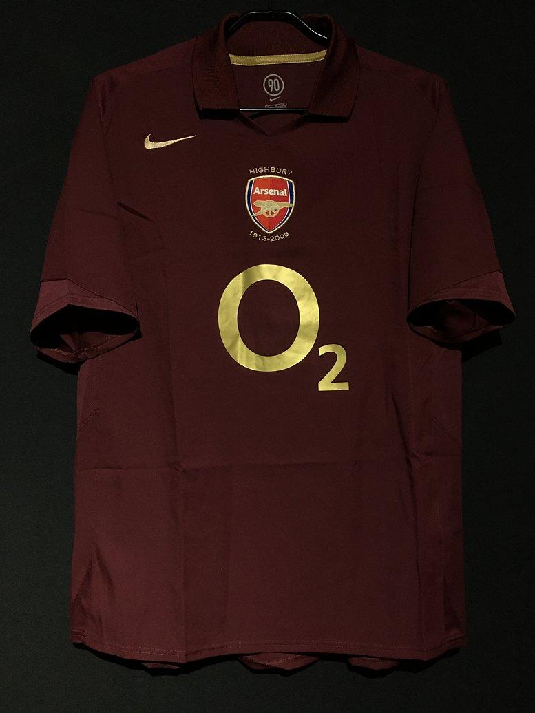 アーセナル2005-06シーズンホームユニフォーム