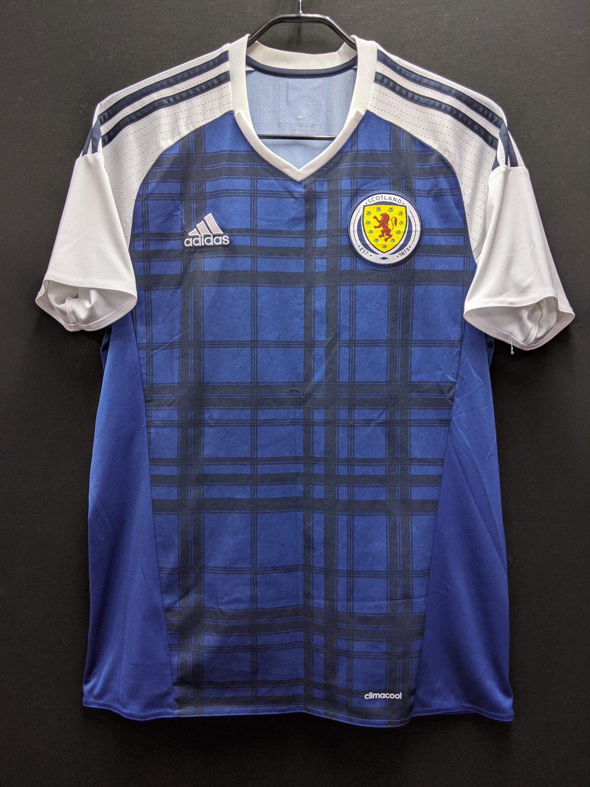 2016年スコットランド代表ユニフォーム