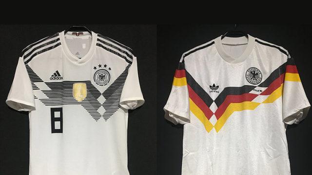 2018年ドイツ代表ユニフォーム