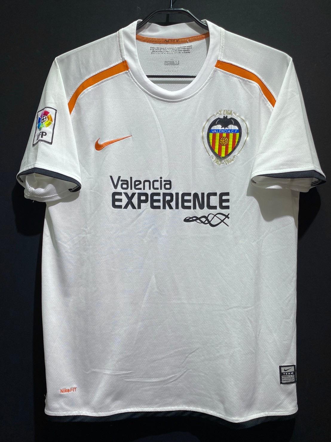 バレンシア2008-09ホームユニフォーム